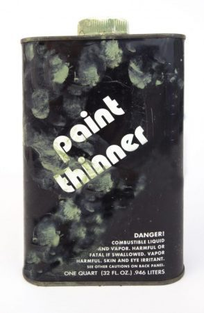 Can You Throw Away Paint Thinner?