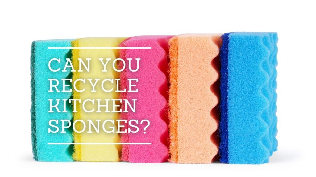 Can You Recycle Kitchen Sponges